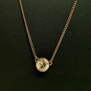 Beautiful Givenchy Single Crystal Necklace